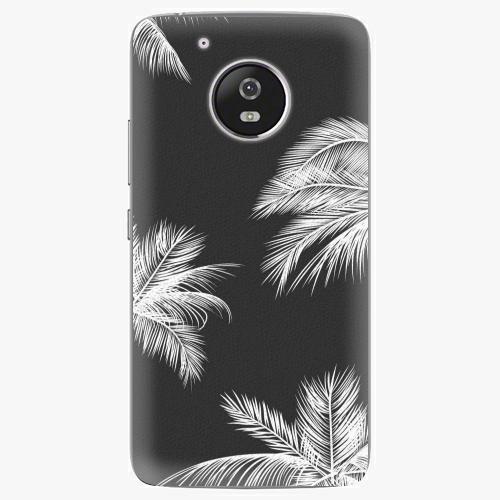 Plastový kryt iSaprio - White Palm - Lenovo Moto G5