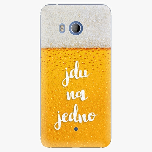 Plastový kryt iSaprio - Jdu na jedno - HTC U11