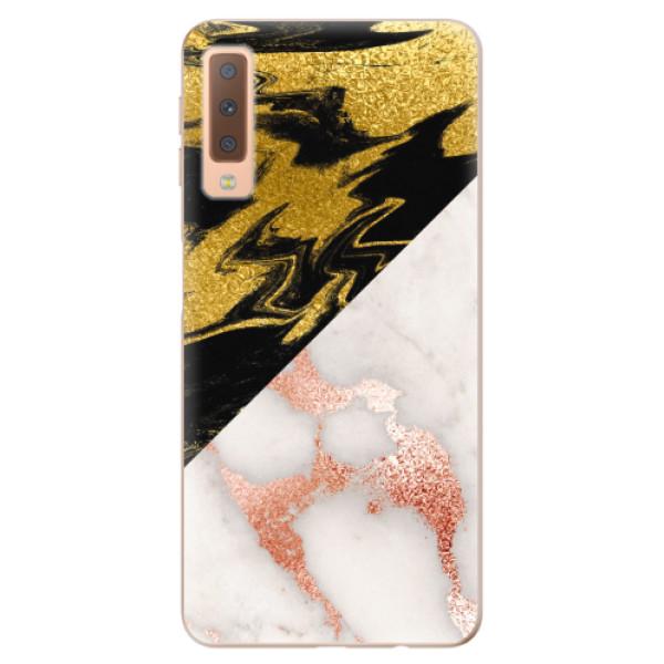 Odolné silikonové pouzdro iSaprio - Shining Marble - Samsung Galaxy A7 (2018)