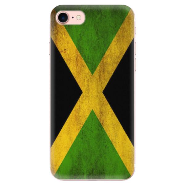 Odolné silikonové pouzdro iSaprio - Flag of Jamaica - iPhone 7