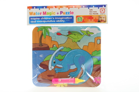 Vodní malování - Dino Parasaurolophus