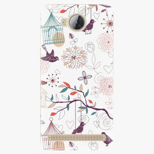 Plastový kryt iSaprio - Birds - Huawei Y3 II
