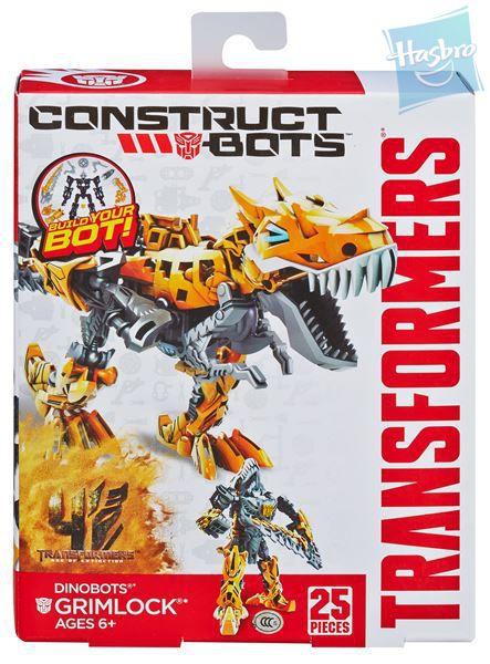 TRANSFORMERS 4 construct bots S pohyblivými prvky 3 druhy