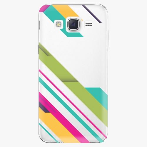 Plastový kryt iSaprio - Color Stripes 03 - Samsung Galaxy Core Prime