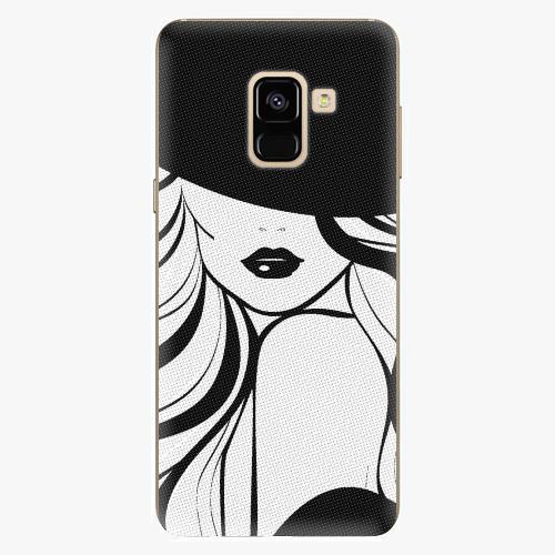 Plastový kryt iSaprio - First Lady - Samsung Galaxy A8 2018