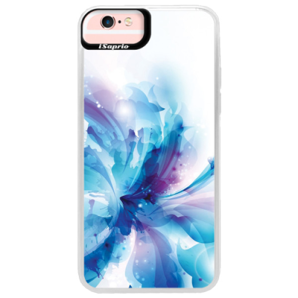 Neonové pouzdro Pink iSaprio - Abstract Flower - iPhone 6 Plus/6S Plus
