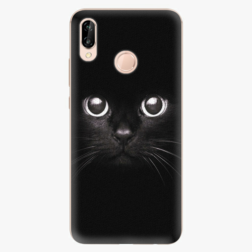 Plastový kryt iSaprio - Black Cat - Huawei P20 Lite