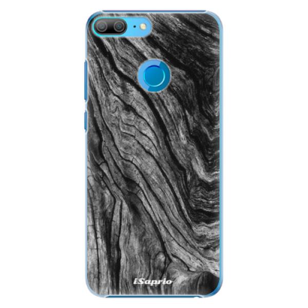 Plastové pouzdro iSaprio - Burned Wood - Huawei Honor 9 Lite
