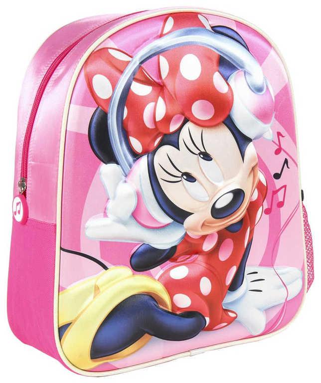Batoh dětský na záda Disney Minnie Mouse 3D holčičí