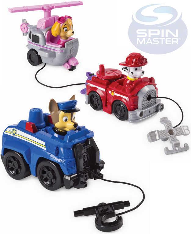 SPIN MASTER Paw Patrol vozidlo malé záchranářské s figurkou - 6 druhů
