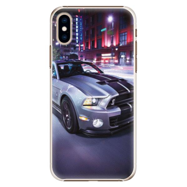 Plastové pouzdro iSaprio - Mustang - iPhone XS
