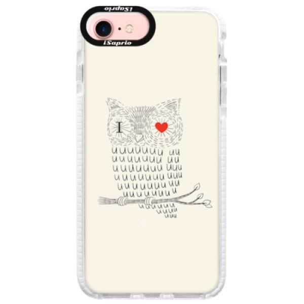 Silikonové pouzdro Bumper iSaprio - I Love You 01 - iPhone 7