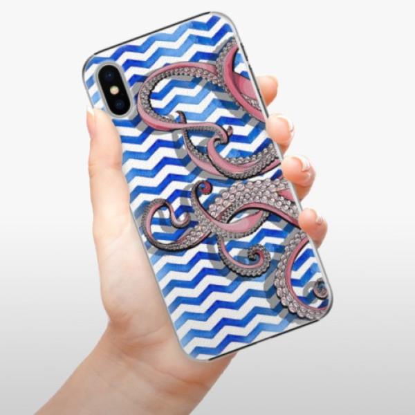 Plastové pouzdro iSaprio - Octopus - iPhone X