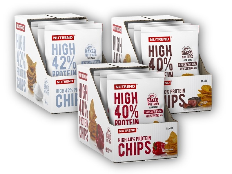 High Protein Chips - 6x40g-sweet-paprika