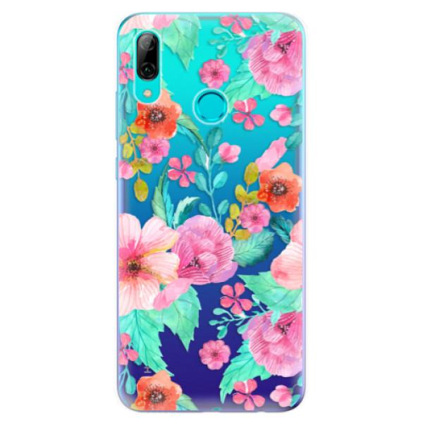 Odolné silikonové pouzdro iSaprio - Flower Pattern 01 - Huawei P Smart 2019