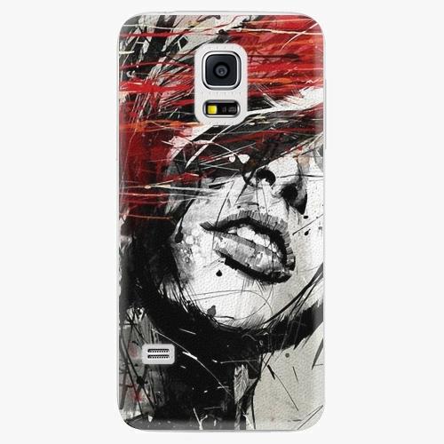 Plastový kryt iSaprio - Sketch Face - Samsung Galaxy S5 Mini