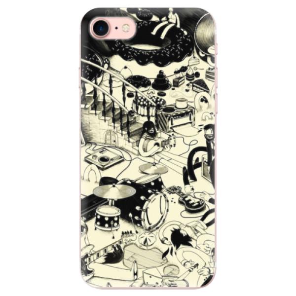 Odolné silikonové pouzdro iSaprio - Underground - iPhone 7