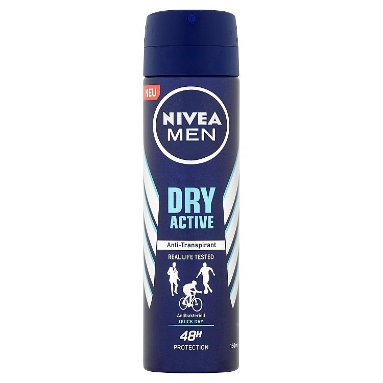 Men Dry Active antiperspirant ve spreji 150 ml