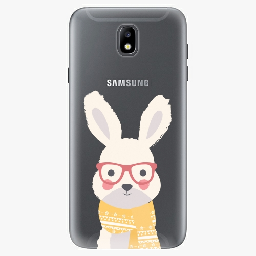 Plastový kryt iSaprio - Smart Rabbit - Samsung Galaxy J7 2017