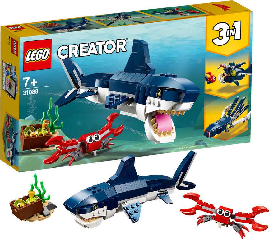 LEGO CREATOR Tvorové z hlubin moří 3v1 31088