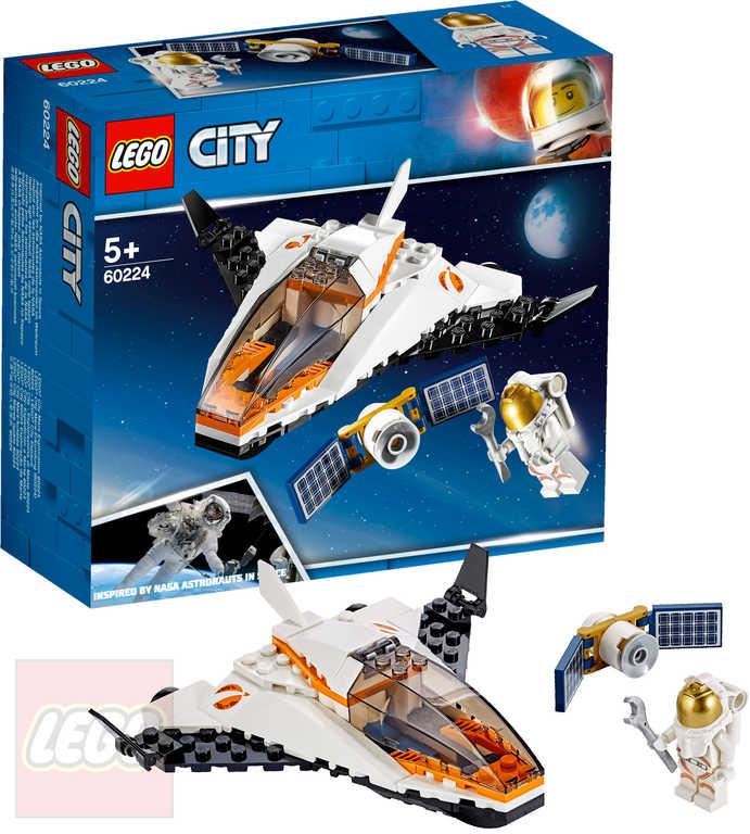 LEGO CITY Údržba vesmírné družice 60224 STAVEBNICE