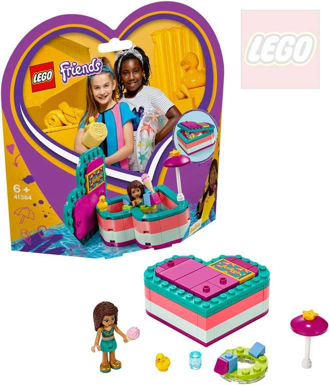LEGO FRIENDS Andrea a letní srdcová krabička 41384