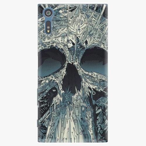 Plastový kryt iSaprio - Abstract Skull - Sony Xperia XZ