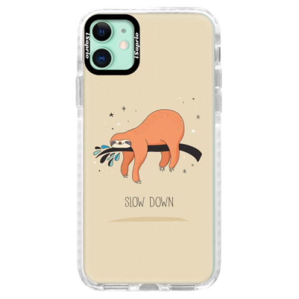 Silikonové pouzdro Bumper iSaprio - Slow Down - iPhone 11