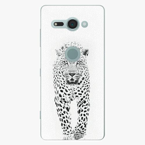 Plastový kryt iSaprio - White Jaguar - Sony Xperia XZ2 Compact