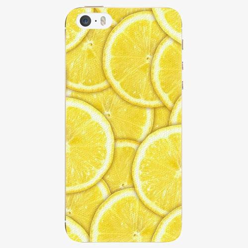 Plastový kryt iSaprio - Yellow - iPhone 5/5S/SE