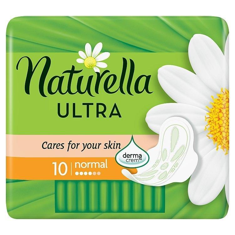 Camomile Ultra normal hygienické vložky s křidélky a jemnou vůní 10ks/bal.