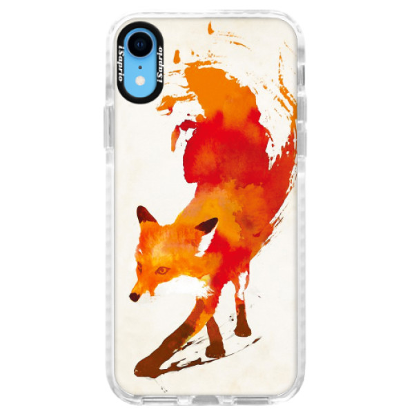 Silikonové pouzdro Bumper iSaprio - Fast Fox - iPhone XR