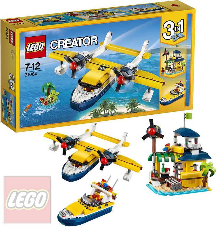 LEGO CREATOR Dobrodružství na ostrově 31064 STAVEBNICE