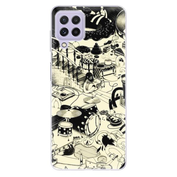 Odolné silikonové pouzdro iSaprio - Underground - Samsung Galaxy A22