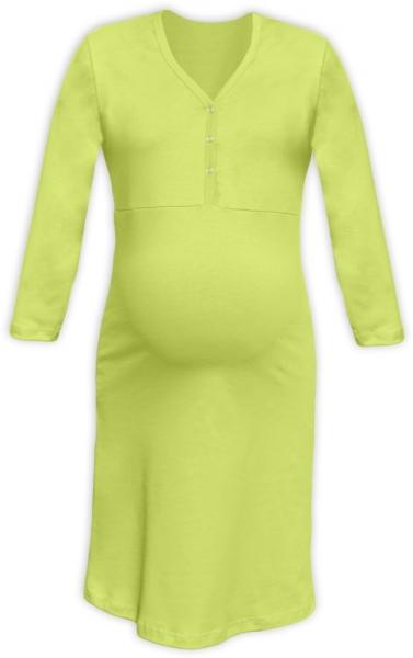 jozanek-tehotenska-kojici-nocni-kosile-pavla-3-4-hraskove-zelena-l-xl