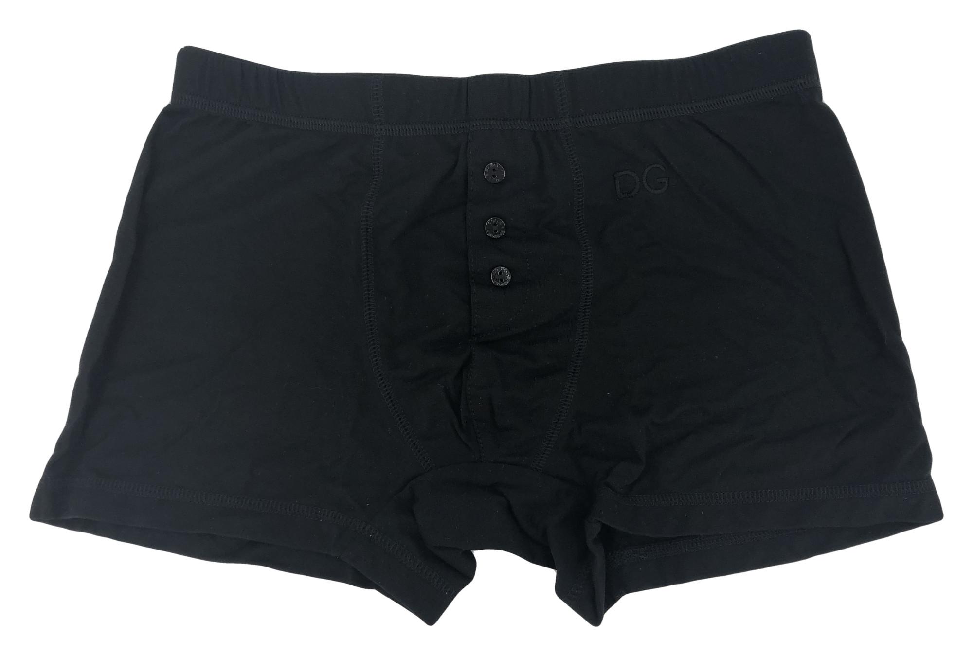 Pánské boxerky M10614 černá - Dolce & Gabbana - Černá/S