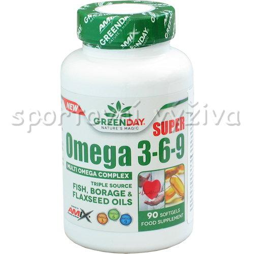 Super Omega 3-6-9 90 kapslí