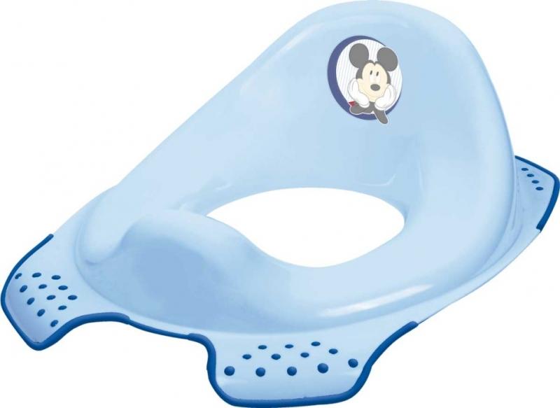 Keeeper Adaptér - treningové sedátko na toaletu Mickey Mouse - modrý