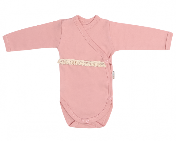mamatti-kojenecke-body-s-krajkou-zapinani-bokem-masle-pudrove-50-0-1m