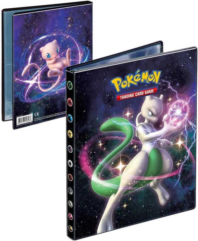 ADC Pokémon HIDDEN FATES Album sběratelské A5 na 80 karet
