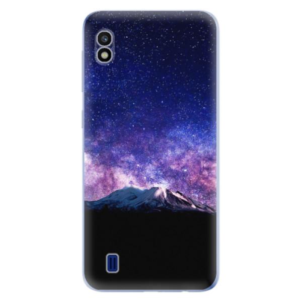 Odolné silikonové pouzdro iSaprio - Milky Way - Samsung Galaxy A10