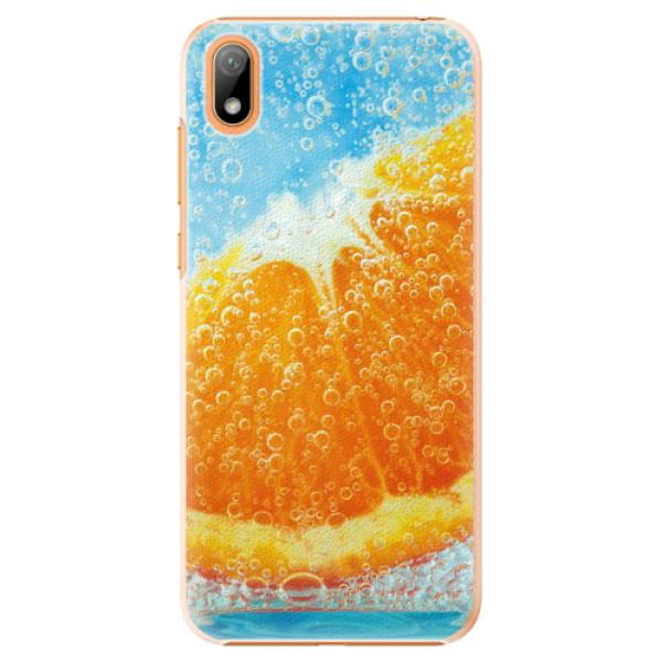 Plastové pouzdro iSaprio - Orange Water - Huawei Y5 2019