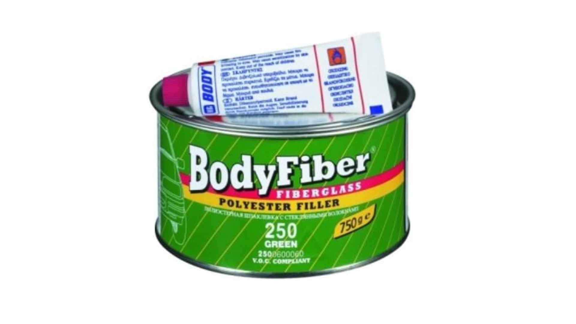 HB BODY tmel se skelným vláknem - fiber F250 1,5kg