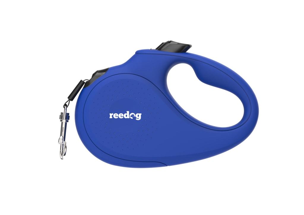 Reedog Senza Basic samonavíjecí vodítko S 15kg / 5m páska / modré