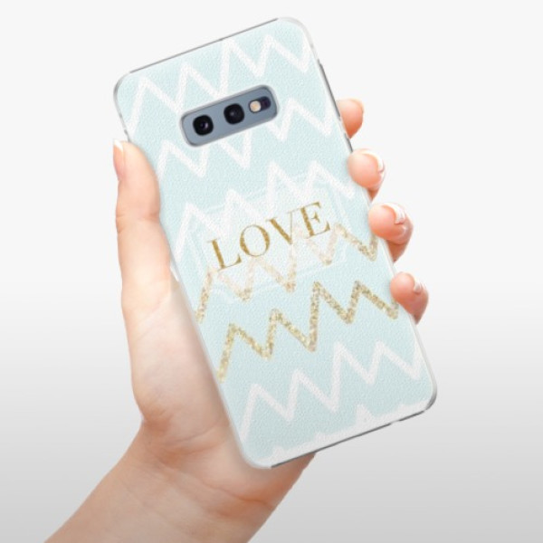 Plastové pouzdro iSaprio - GoldLove - Samsung Galaxy S10e