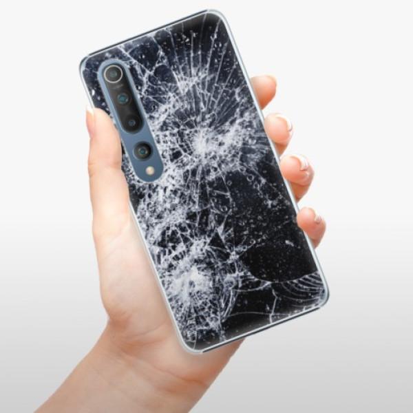 Plastové pouzdro iSaprio - Cracked - Xiaomi Mi 10 / Mi 10 Pro