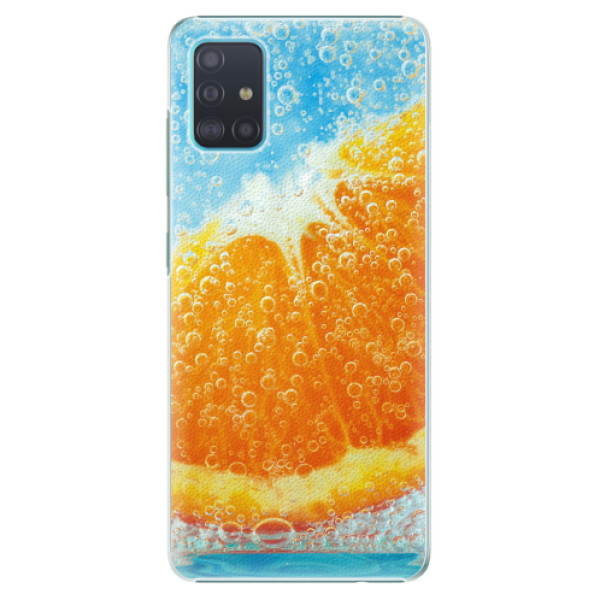 Plastové pouzdro iSaprio - Orange Water - Samsung Galaxy A51