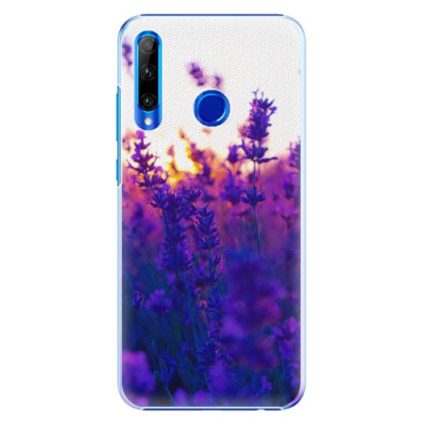 Plastové pouzdro iSaprio - Lavender Field - Huawei Honor 20 Lite
