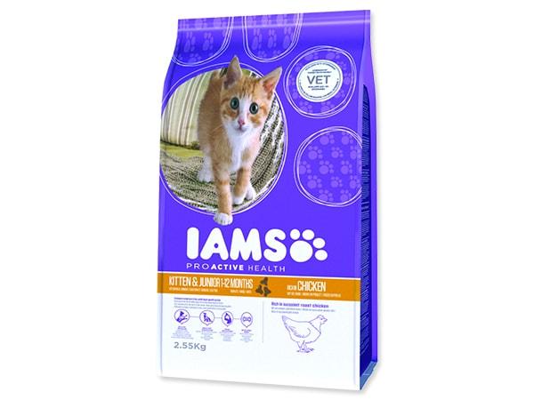 IAMS Kitten rich in Chicken 2,55kg