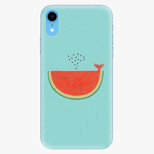 Silikonové pouzdro iSaprio - Melon - iPhone XR